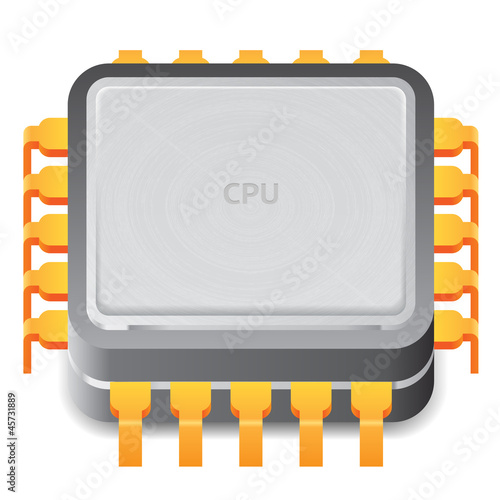 Icon for microprocessor
