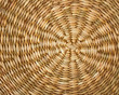 Rattan Circular texture background