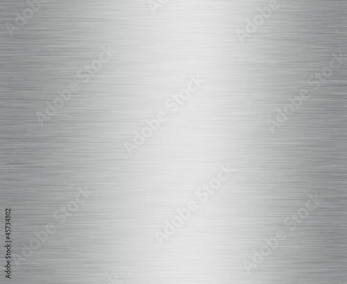 Fotobehang Metal Surface aluminium brossé