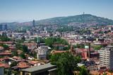 Cityscape of Sarajevo poster
