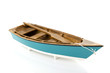 Blue rowing boat - 45737897