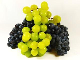 Uvas Blancas y Rojas