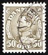 Postage stamp Denmark 1934 Christian X, King of Denmark