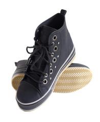 chaussures neuves baskets noir de sport