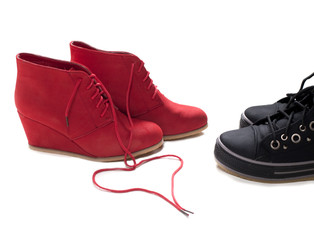 chaussures homme femme premier rendez vous rencontre couple