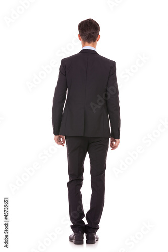 back picture of a business man