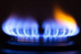 Fototapety gas flame