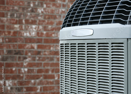 Modern Air conditioner close up