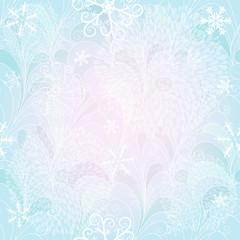 Seamless christmas gentle pattern