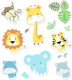 cute safari animals