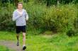 joggen in der natur