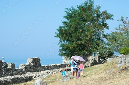 Family Visit Lezha Castle © ollirg