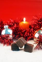 Weihnachtsdominosteine