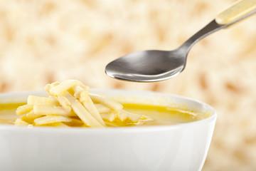 healthy chicken noodle soup
