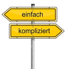 Einfach oder Kompliziert