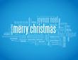 """MERRY CHRISTMAS"" card (happy new year xmas santa claus )"