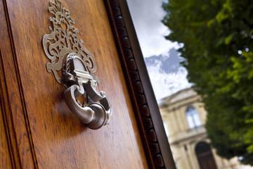 Maison, immobilier, luxe, Bordeaux, heurtoir, artchitecture