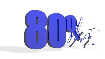 Saldi 80%