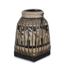 Wooden box of tea