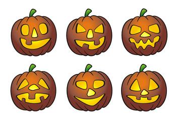 various Halloween Pumpkin