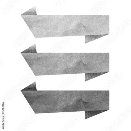 Paper texture ,Black Talk tag on white background