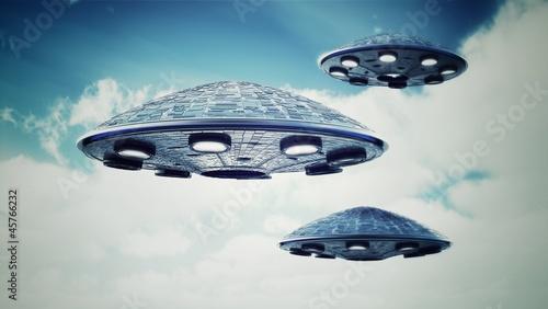 UFO in the sky - 45766232
