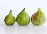 Three ripe figs