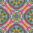 Magic Indian vector pattern