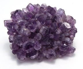 Amethyst Isolated On A White Background