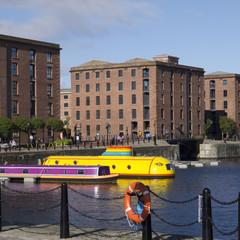 Liverpool Docklands Skyline England