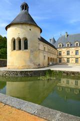 Chateau de Bussy-Rabutin, Burgund, Frankreich