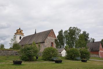 Kirchendorf, Gammelstad Lulea, Schweden