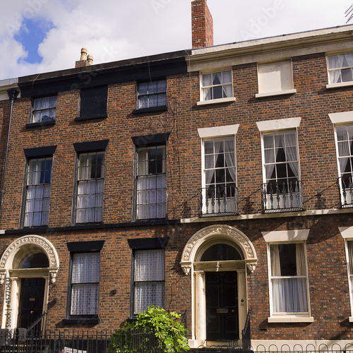 Georgian Houses in Liverpool England