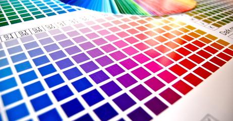 Farbpalette digitaldruck CMYK