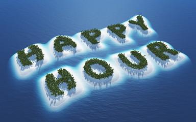 Happy Hour - Insel Konzept 1