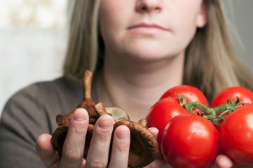 Gesunde Ernährung, Gemüse. Exklusiv.