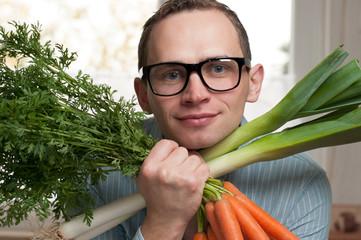 Gemüse in der Küche. Exklusiv.
