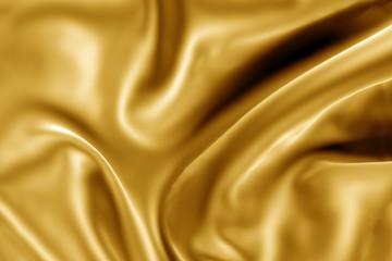detalle de tela dorada