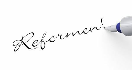 Stift Konzept - Reformen!