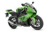 Green Sport Motorcycle