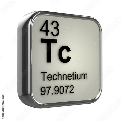 3d Periodic Table - 43 Technetium