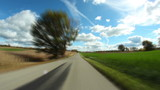 Countryside Driving Timelapse