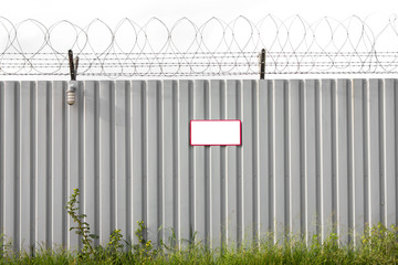Zinc Fence Barb