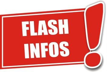 étiquette flash infos