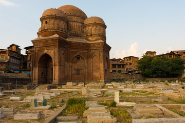 Budshah Tomb Srinagar Kashmir Graves Cemetary H