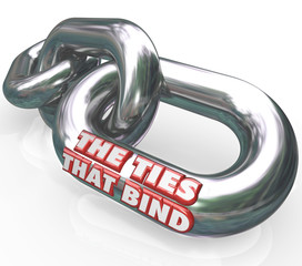 The Ties That Bind Chain Links Connected Partners