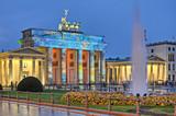 Fototapety Brandenburger Tor in Berlin