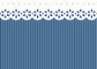 Feston/Verzierung auf Streifen Muster - endlos