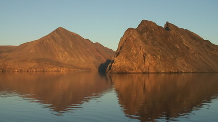 Mountains in the Canadian High Arctic