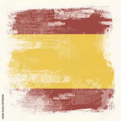 Grunge-Flagge Spanien